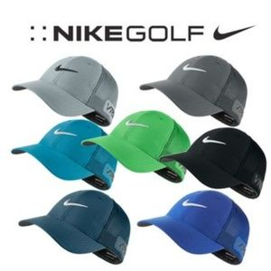 Nike Golf Tour Legacy Mesh Cap (Discontinued) BLUE